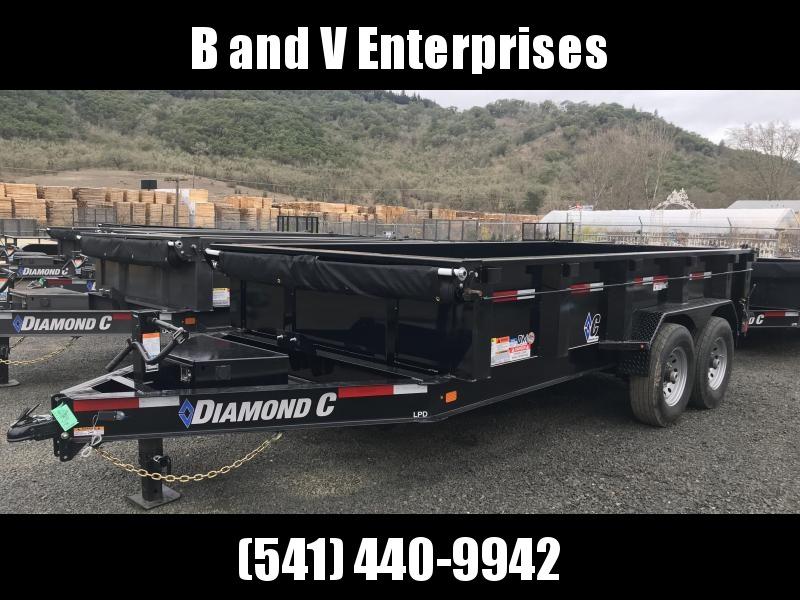 2019 Diamond C Trailers LPD207 82X14 LOW PROFILE Dump Trailer K1211209