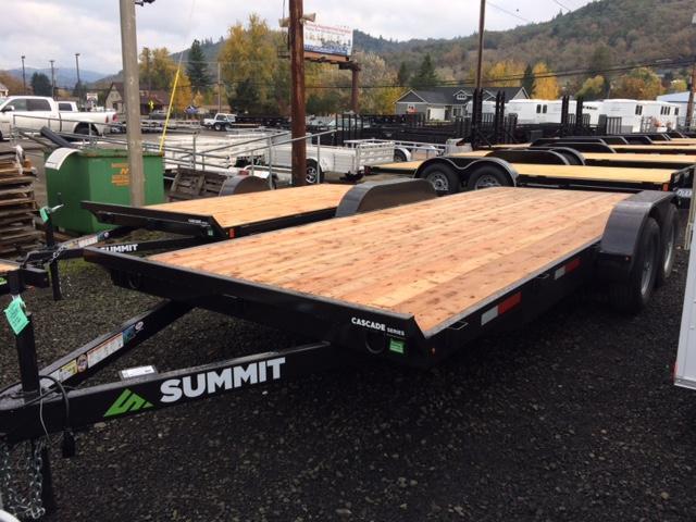 2018 Summit 7x18 Flatbed Trailer J1002142