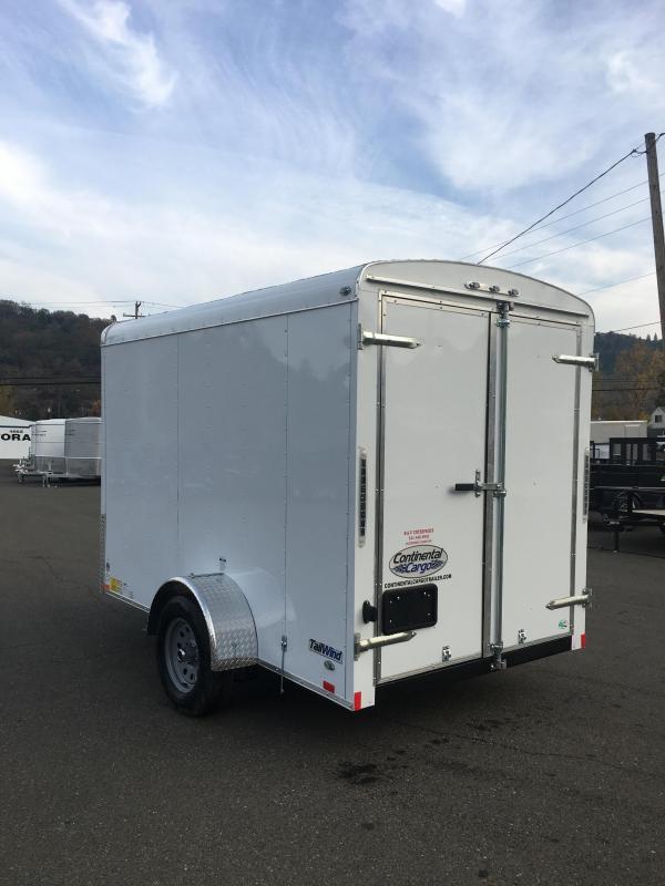 2019 Continental Cargo TW610SA TAILWIND 6X10 Enclosed Cargo Trailer