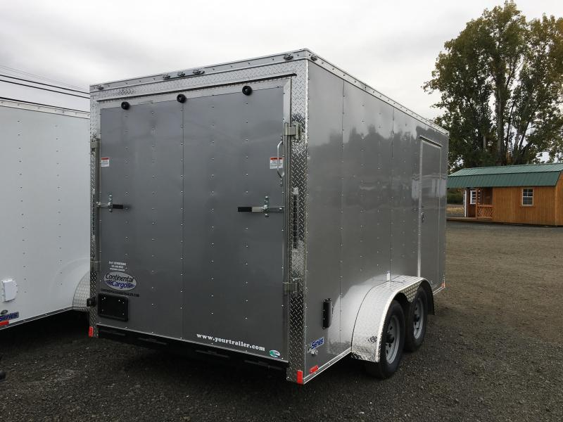 2019 Continental Cargo VHW714TA2 7x14 Enclosed Cargo Trailer