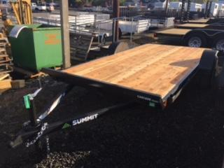 2018 Summit 6x12 ATV Flatbed Trailer J1002094