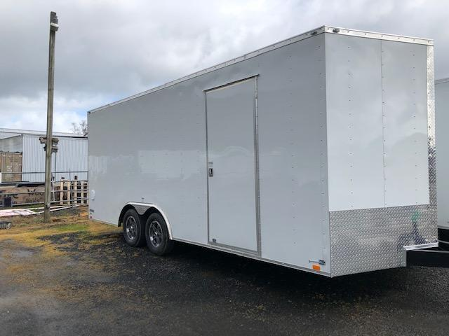 2020 Continental Cargo Car hauler VHW8520TA2  8.5 X 20 Enclosed Cargo Trailer #LF717979