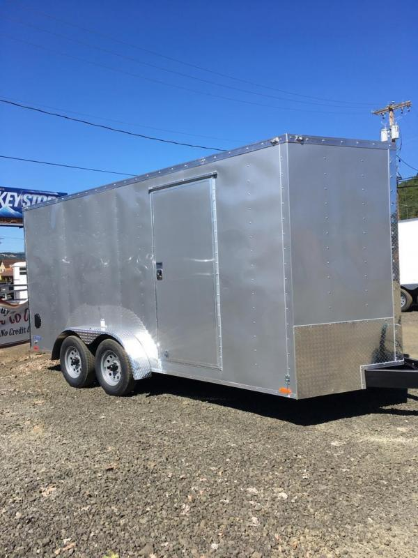 2019 Continental Cargo VHW716TA2 7x16 Enclosed Cargo Trailer
