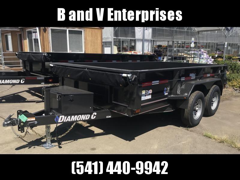 2019 Diamond C Trailers EDG235 77X10 Dump Trailer K1216056