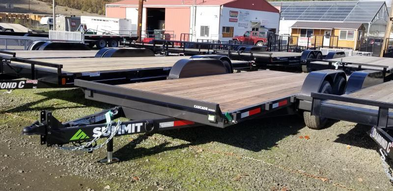 2019 Summit 7X18 C718TA3 CASCADE FULL TILT Equipment Trailer K1004082
