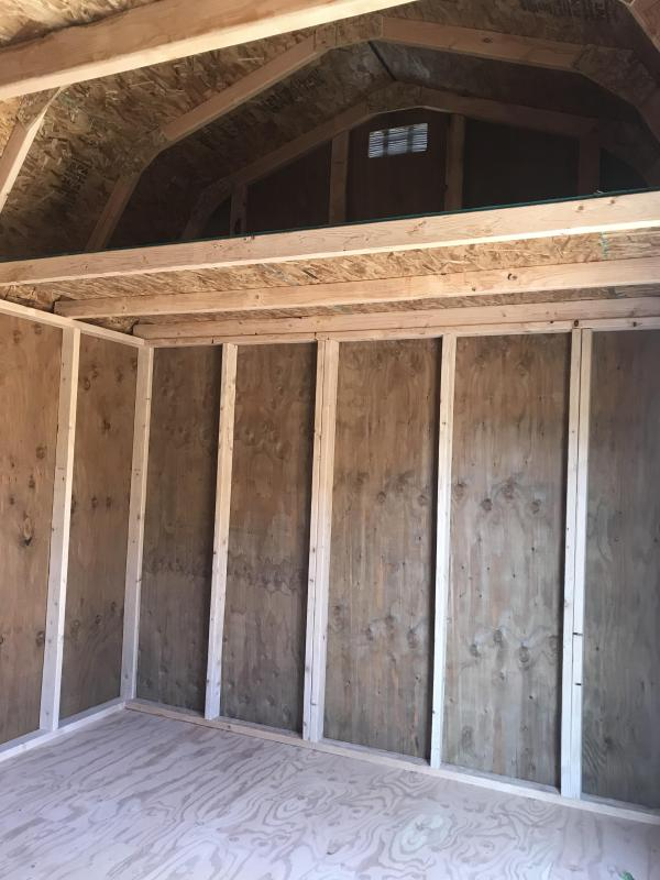 2019 Old Hickory WSLBX 10 X 12 SIDE LOFTED BARN SHED