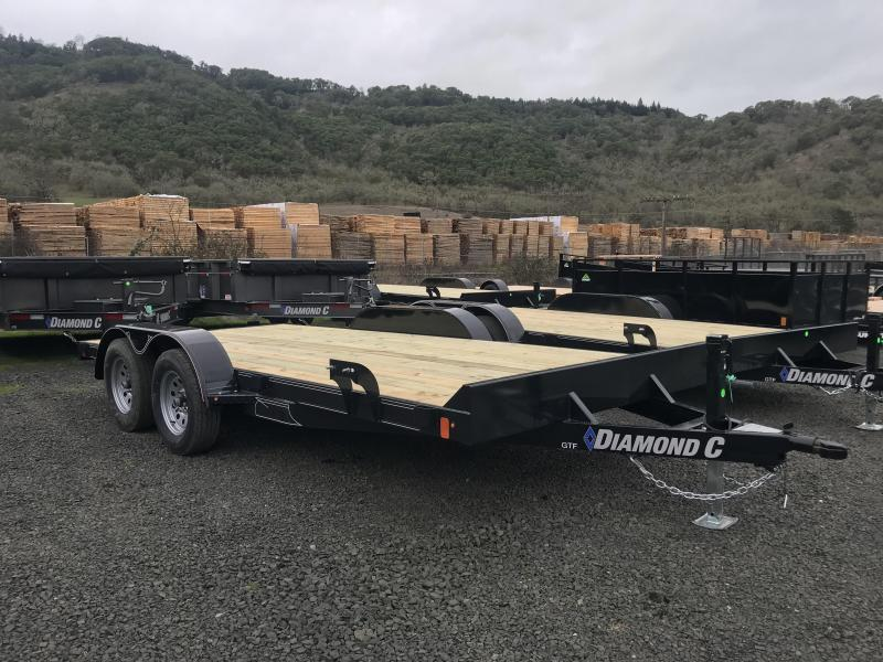 2019 Diamond C Trailers GTF235 16X83 Flatbed Car / Racing Trailer K1212245
