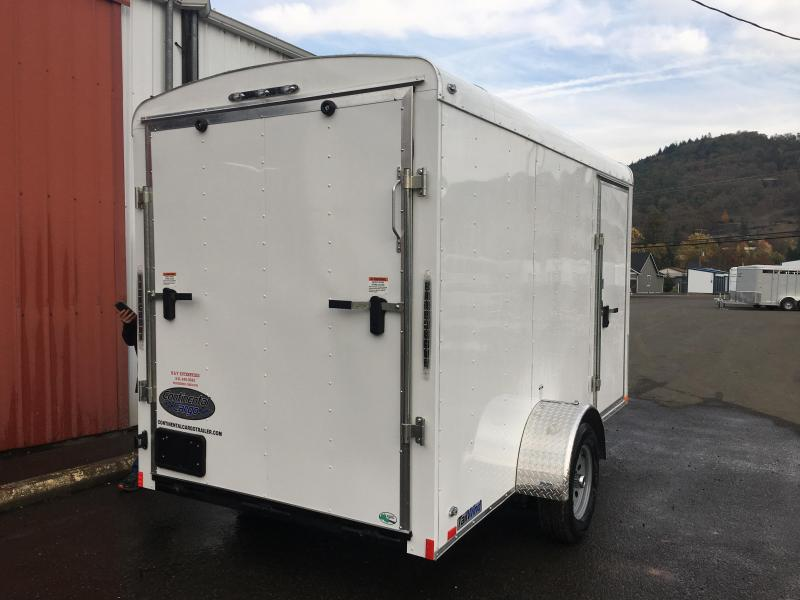 2019 Continental Cargo TW612SA TAILWIND 6X12 Enclosed Cargo Trailer