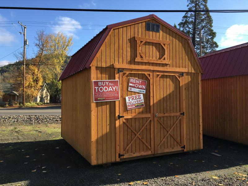 2018 Old Hickory WLBX 10 X 12 lofted barn shed