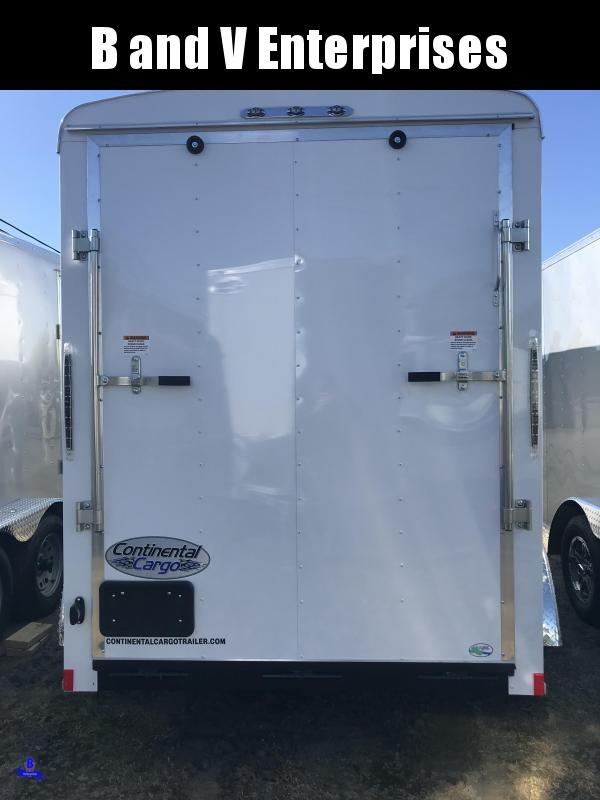 2020 Continental Cargo TW612TA2 TAILWIND 6X12 Enclosed Cargo Trailer #LF717977
