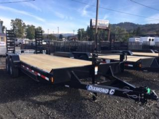"2018 Diamond C 82""x20 HD Equipment Flatbed Trailer J1194045"