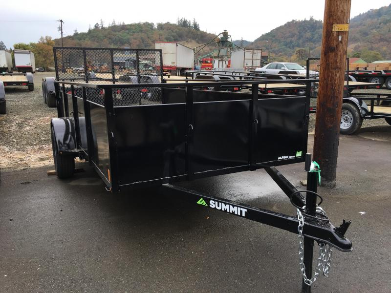 2019 Summit ALPINE 6X12 Utility Trailer