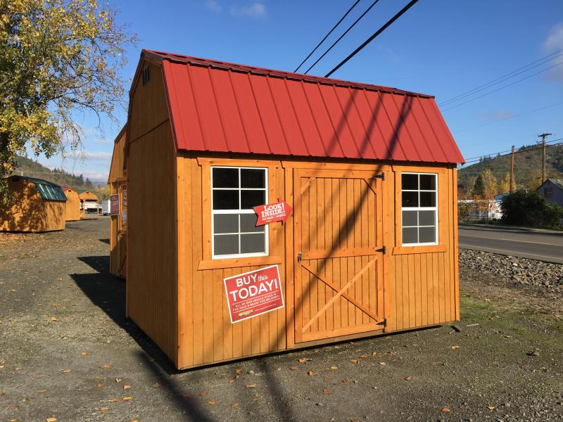 2018 Old Hickory WSLBX 8 X 12 SIDE LOFT BARN SHED