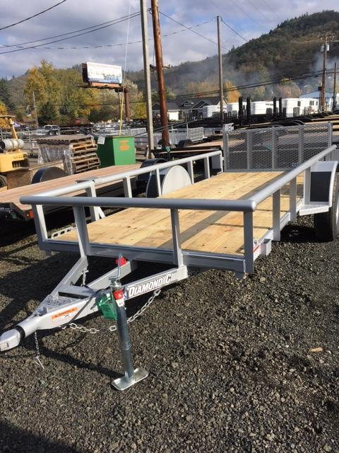 2018 Diamond C 5x12 Utility Trailer J1194882