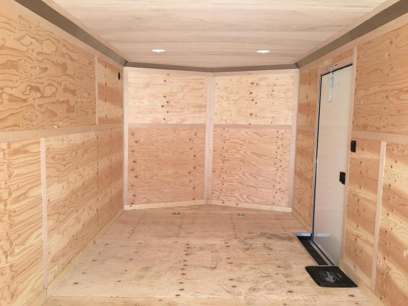 2020 Continental Cargo Car hauler VHW8524TA3  8.5 X 24 Enclosed Cargo Trailer #LF718898