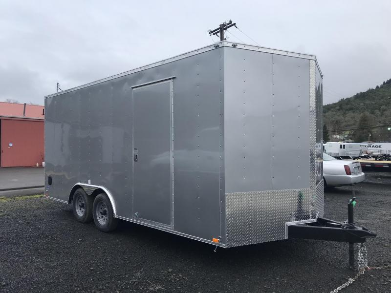 2020 Continental Cargo Car hauler VHW8518TA2  8.5 X 18 Enclosed Cargo Trailer