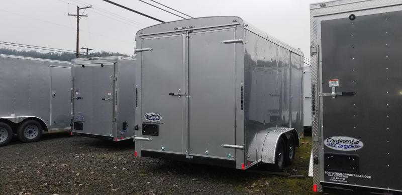 2019 Continental Cargo TW714TA2 7x14 Enclosed Cargo Trailer