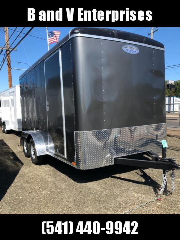 2019 Continental Cargo TAILWIND 7 X 14 Enclosed Cargo Trailer