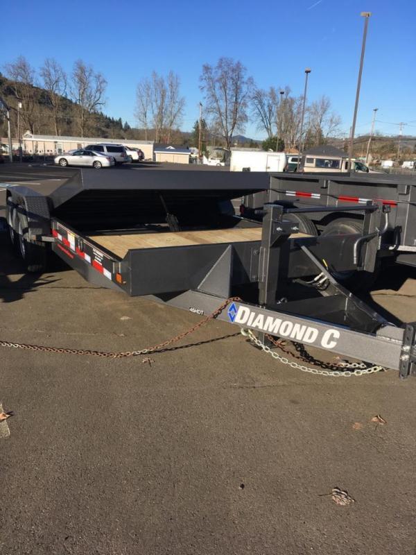 """2018 Diamond C 82""""x20 Split Deck Tilt Trailer J1196074"""