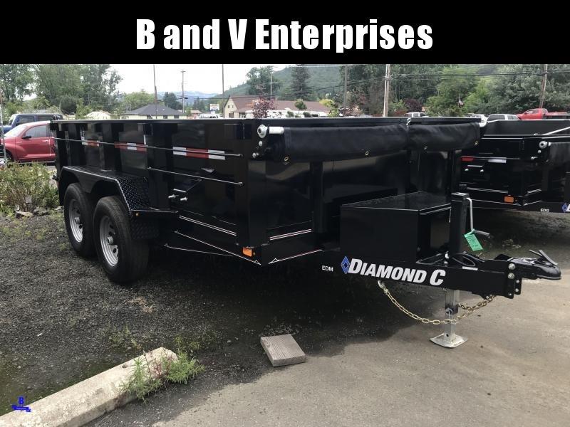 "2019 DIAMOND C EDM252 12'X77"" DUMP W/EXTRAS K1216059"