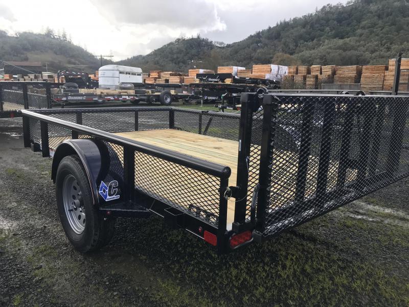 2019 Diamond C Trailers PSA 77X10 3K Utility Trailer K1210886