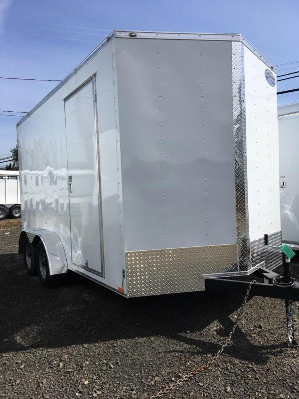 2019 Continental Cargo VHW714TA2 7x14 Enclosed Cargo Trailer KF713031
