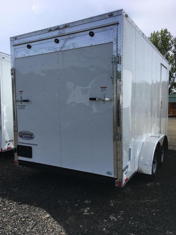 2019 Continental Cargo VHW714TA2 7x14 Enclosed Cargo Trailer KF713031