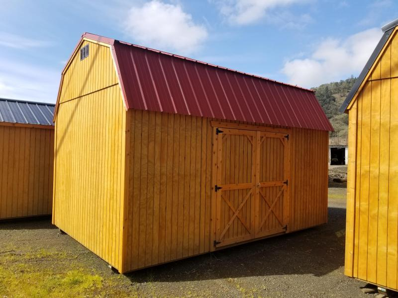 2017 Old Hickory Shed 10x16 Side Lofted Barn T2982