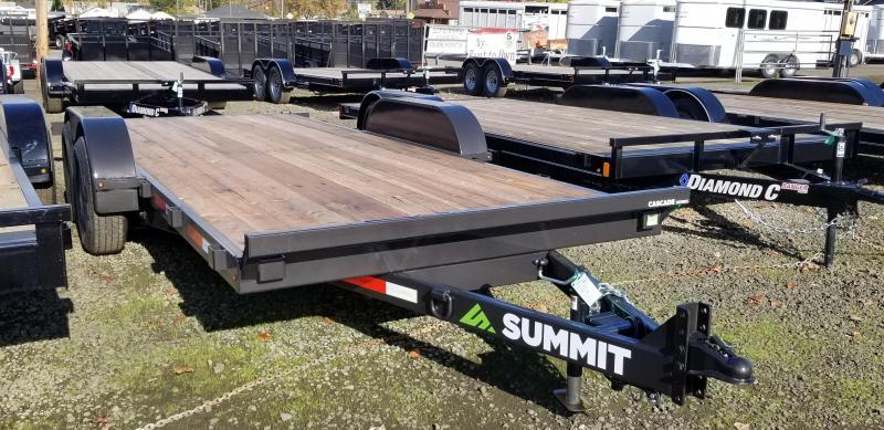 2019 Summit 7X18 CASCADE FULL TILT Equipment Trailer