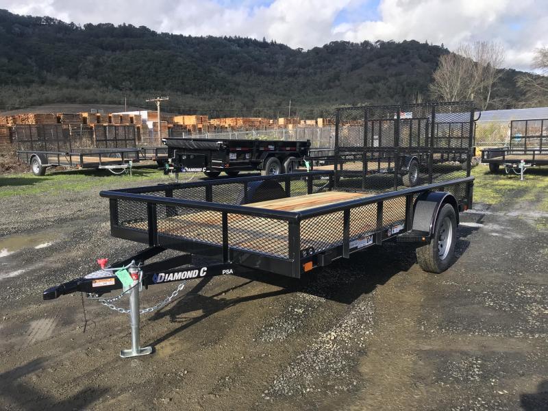 2019 Diamond C Trailers PSA 77X12 3K Utility Trailer K1210945