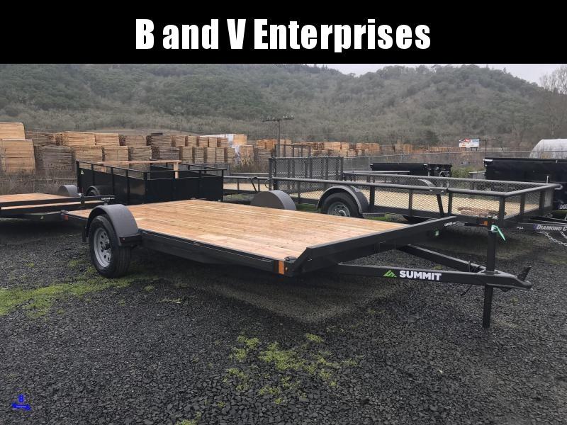 2019 Summit FB714SA-ATV 7X14 ATV Trailer