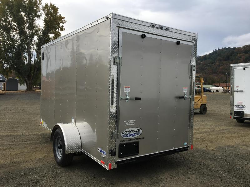 2019 Continental Cargo 6x12 VHW Enclosed Cargo Trailer