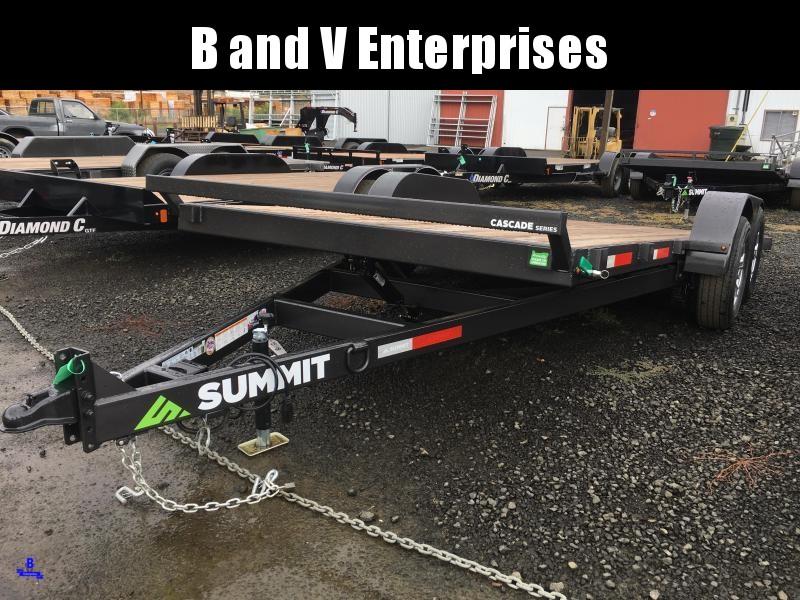 2020 Summit CASCADE FULL TILT 7X18 10K Equipment Trailer
