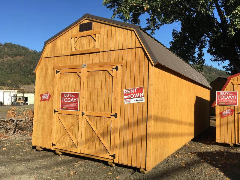 2019 Old Hickory WLBX 12 X 28 LOFTED BARN SHED