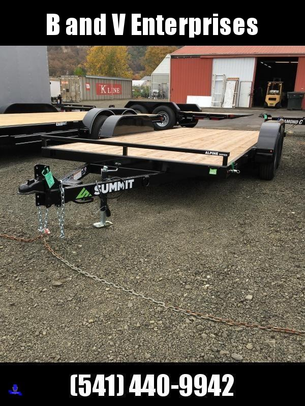 2019 Summit Alpine A716TA2 FULL TILT Equipment Car Trailer K1004400