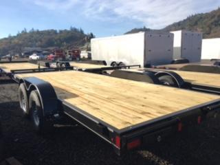 "2018 Diamond C 83""x18 Car Hauler Flatbed Trailer J1193855"