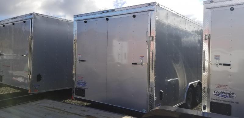 2019 Continental Cargo VHW8522TA2 Enclosed Car Hauler Cargo Trailer