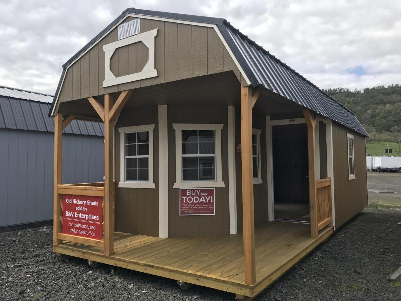 2019 Old Hickory Shed 12x28 Deluxe Playhouse Package T4567