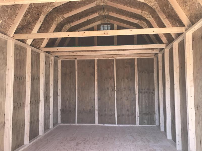 2019 Old Hickory WLBX 10 X 16 DELUXE LOFTED BARN SHED