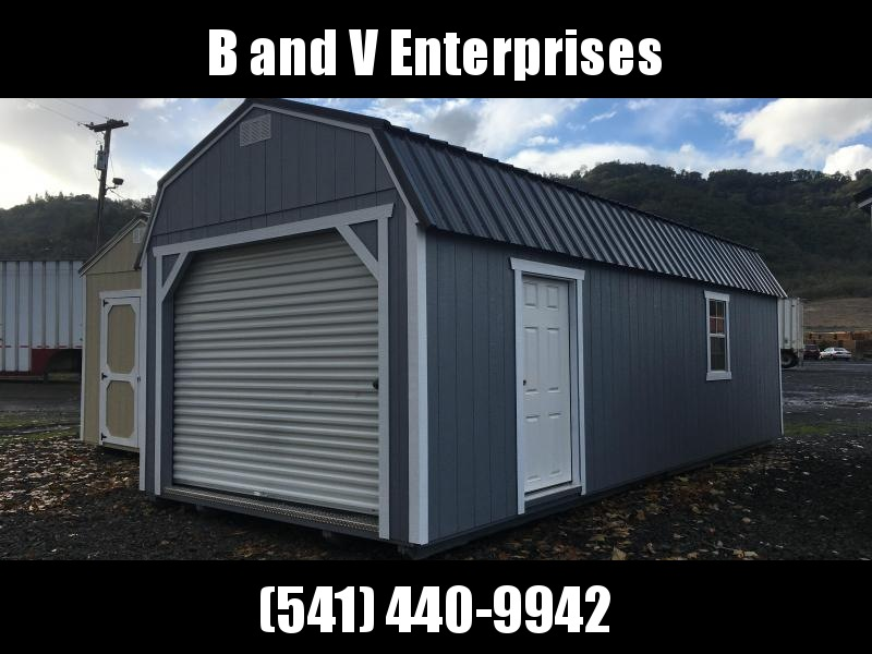 2018 Old Hickory Shed WLGX 12 X 28 LOFTED GARAGE PACKAGE SHED