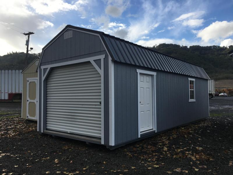 2018 Old Hickory WLGX 12 X 28 LOFTED GARAGE PACKAGE SHED