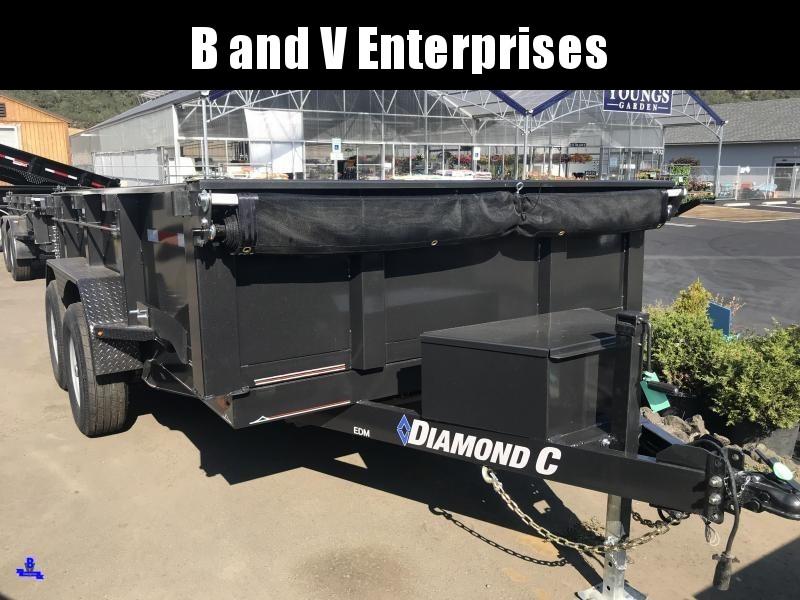 "2019 DIAMOND C EDM252 12'X82"" SCISSOR HOIST 10K DUMP #K1217551"