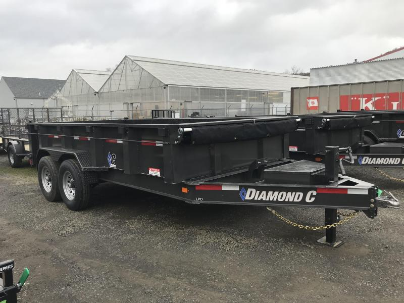 2019 Diamond C Trailers LPD207 82X14 LOW PROFILE Dump Trailer K1210793