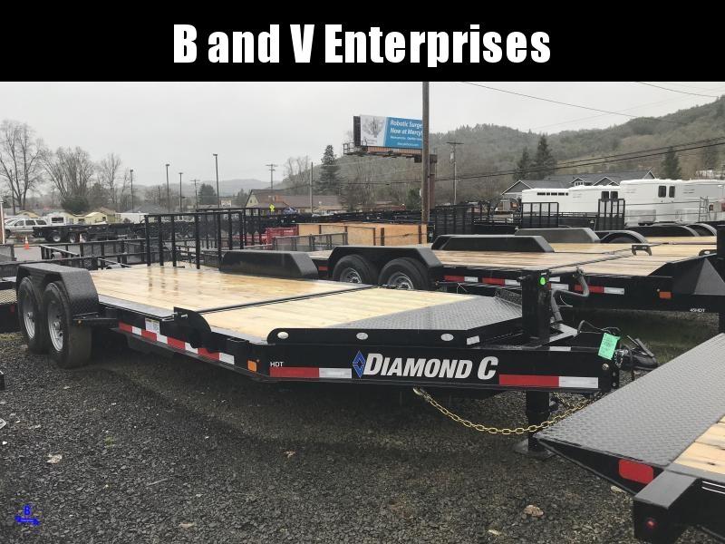 2019 DIAMOND C HDT207 82X20 SPLIT TILT EQUIPMENT TRAILER K1210736