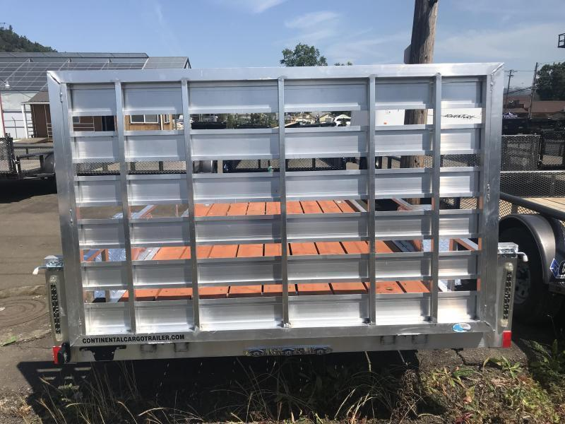 2019 Forest River OA 6.5X10 Aluminum Utility Trailer #KF714946