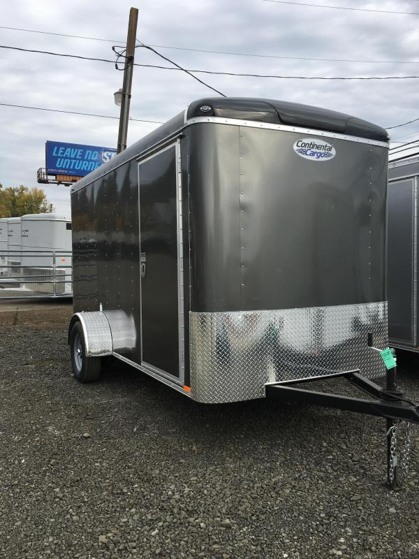 2019 Continental Cargo TAILWIND 6 X 12 Enclosed Cargo Trailer