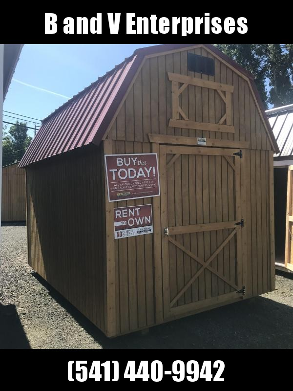 2019 Old Hickory WLB 8 X 12  LOFTED BARN SHED