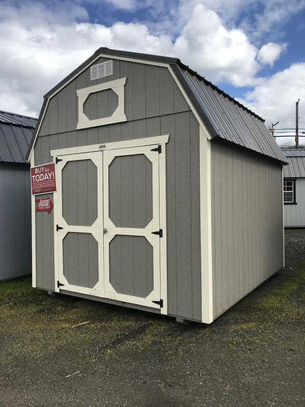 2019 Old Hickory WLBX 10 X 12 lofted barn shed