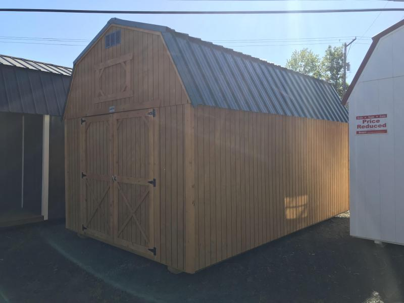 2019 Old Hickory WLB 10 X 16 lofted barn shed