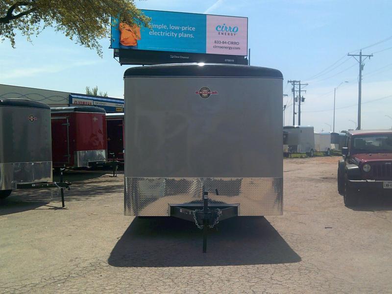 2019 Carry-On 8.5X16 Enclosed Cargo Trailer W/ Rear Ramp in Ashburn, VA
